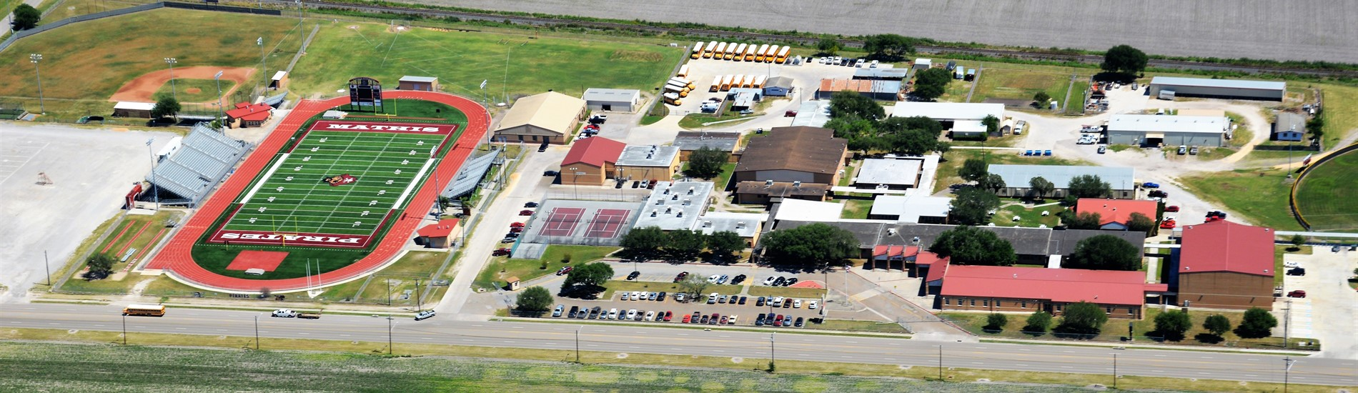 Mathis High School Aerial Photo