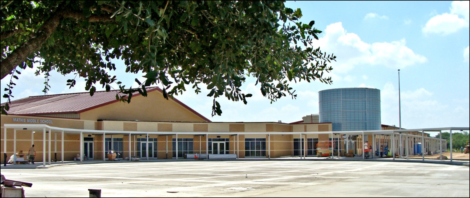 Middle School Campus Building Photo