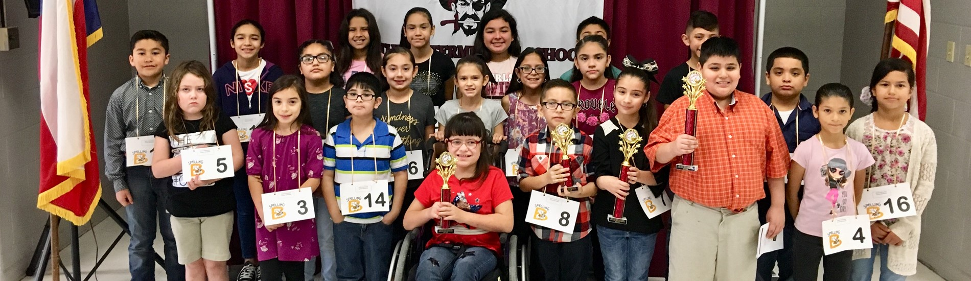 Spelling Bee Group Friday, February 16, 2018